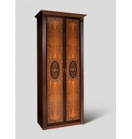 Шкаф 2-х ств. для платья и белья